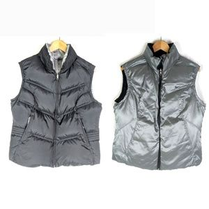Nike Down Puffer Vest Youth XL Reversible Black Si